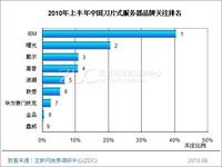 2010年上半年中国<strong style='color:red;'><strong style='color:red;'>刀片式服务器</strong></strong>市场研究报告