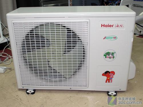 5匹變頻空調橫評  產品:kfr-35gw/02s(r2dbpxf)-s1 無氟變頻海爾空調