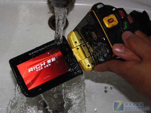 敢与乌龟戏水 莱彩新品M-HD01测前图赏
