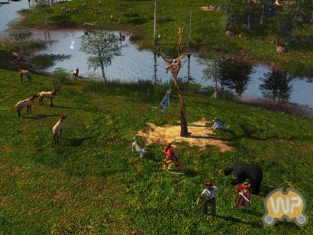 《帝国时代3:酋长》游戏截图2  资料片《帝国时代3:酋长》...