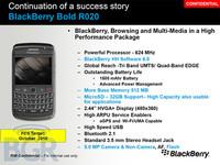 黑莓9700升级版 512MB黑莓9780参数曝光