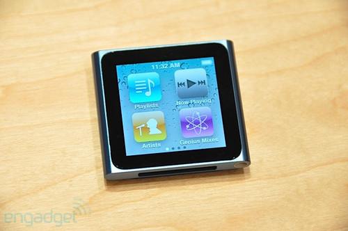 惊人的小巧与时尚 新一代iPod nano 6图赏