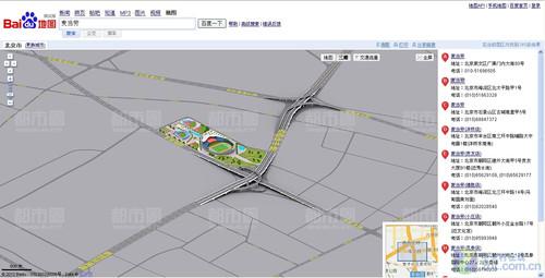 三维地图新时代 百度地图pk谷歌地图