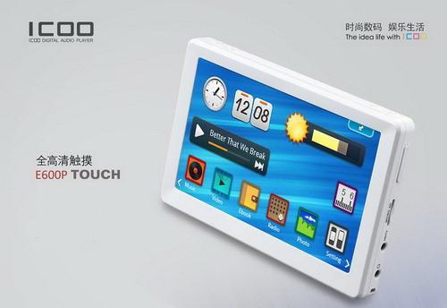 ICOO发布5寸高清智能触摸新产品E600P