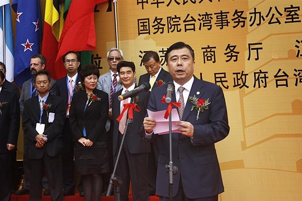 21日上午9时30分,苏州市市长阎立正式宣布2010苏州电子信息博览会与中国国际半导体博览会开幕。