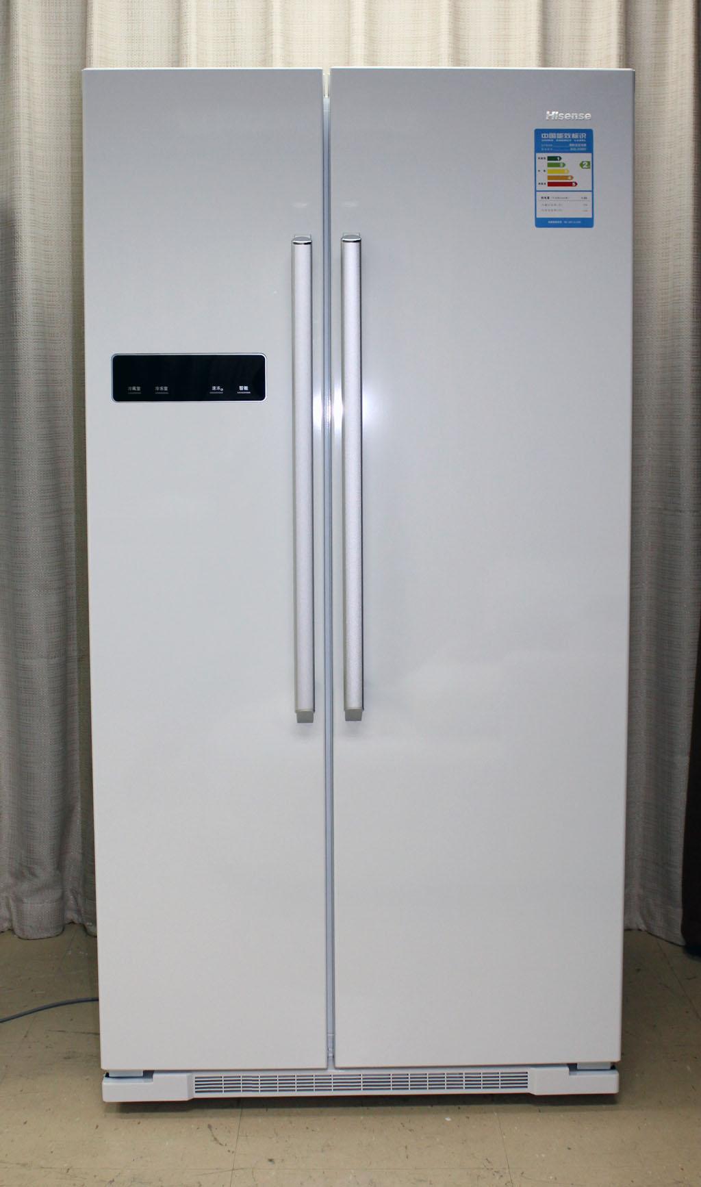纯白色诱惑 海信对开门冰箱多图图赏