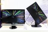 图为搭载了黑锐丽技术的明基液晶显示器,该技术可改善液晶显示器对黑色的表现,提高对比度并增强色彩的表现。