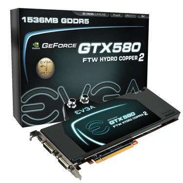 單槽水冷散熱 EVGA推另類GTX 580顯卡