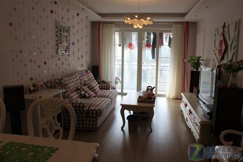欧式典雅风格 网友打造小居室家庭影院
