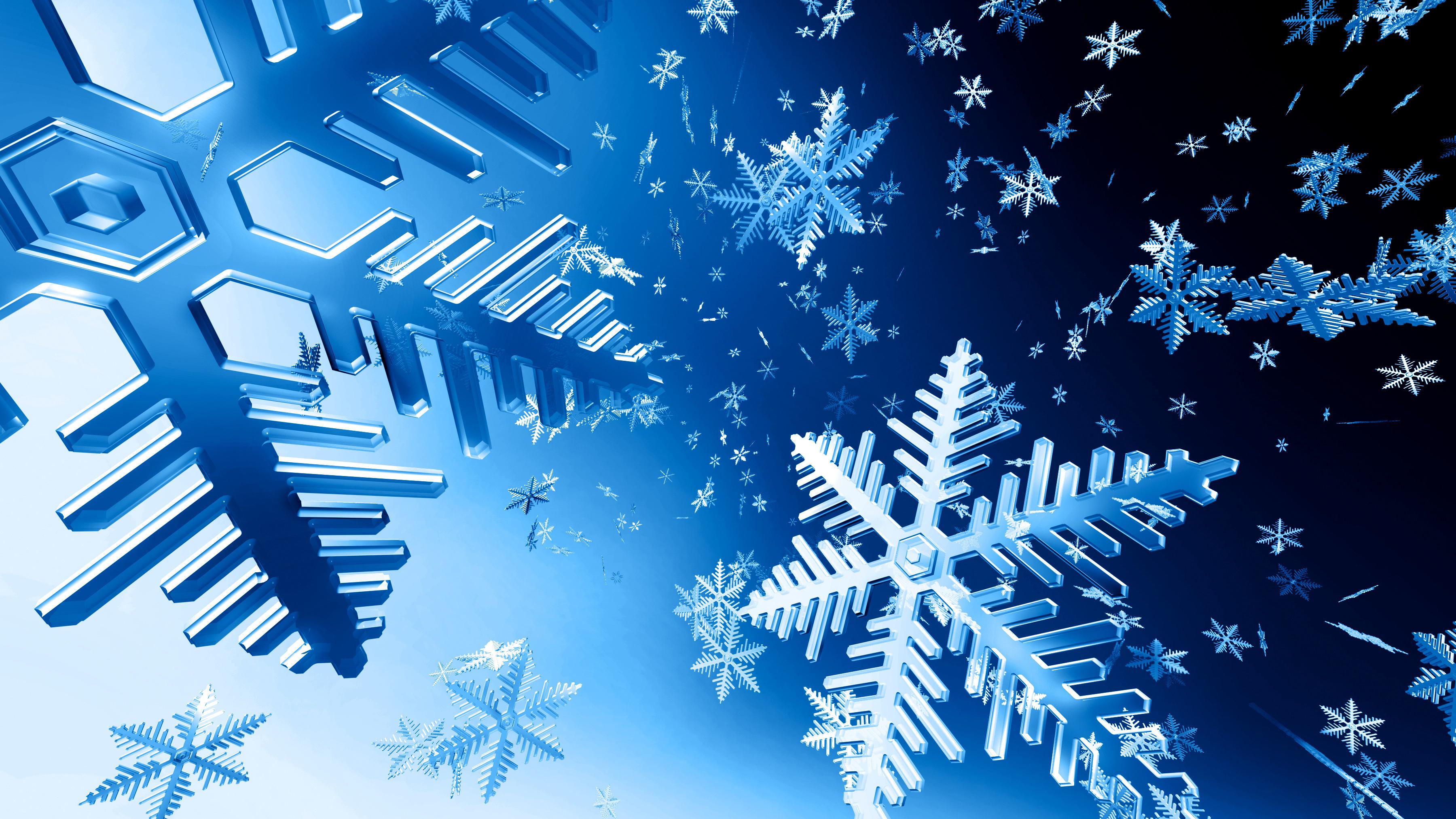 漂亮的蓝色雪  ps高清风景图片素材 ps高清背景图片素材 ps高清人物