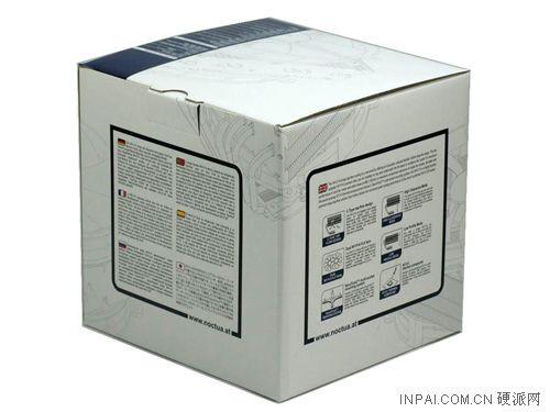 noctua经典的类正方体纸盒包装; 至尊下吹三明治 猫头鹰新品nh-c14