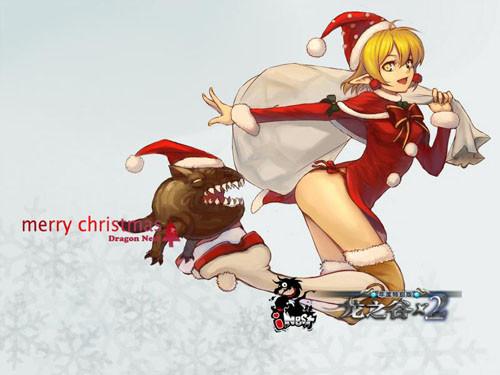 2精彩手绘迎圣诞