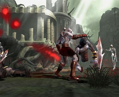 """动作游戏""""战神2""""再次公布八张游戏截图"""
