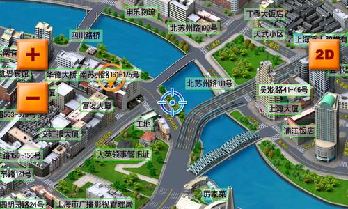 优路特e都市三维导航地图