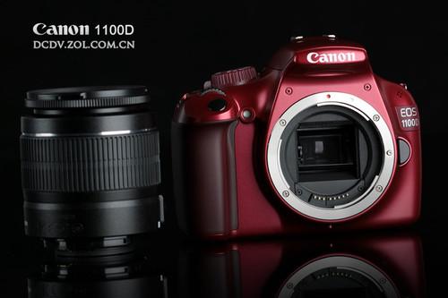 轻巧炫彩 入门级单反Canon1100D?啦馐追?