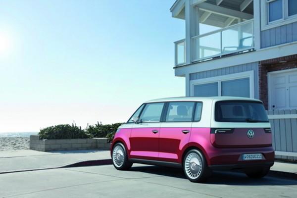此款概念车采用了大众汽车的全新设计理念,也绝非复古设计.