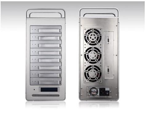 铁威马(TerraMaster)T8-SAS商用存储 助力影视行业