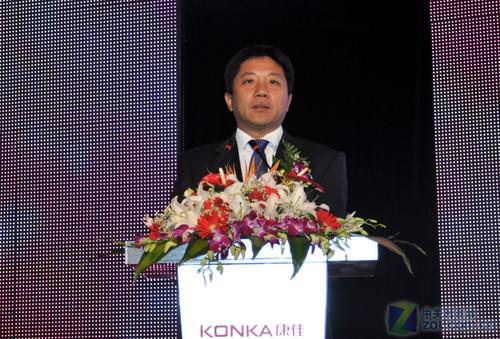 中国 电视 领军人物/康佳集团总裁陈跃华先生讲话