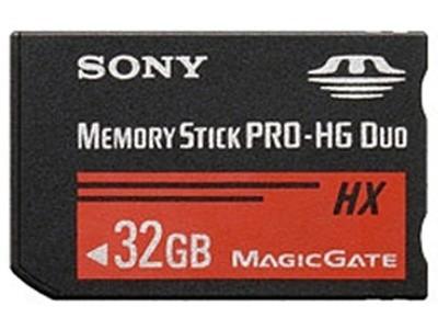 索尼 Memory Stick PRO-HG Duo HX(32GB) 索尼(SONY)MS-HX32B (32G)记忆棒存储卡