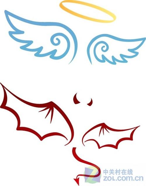 审判天使矢量图