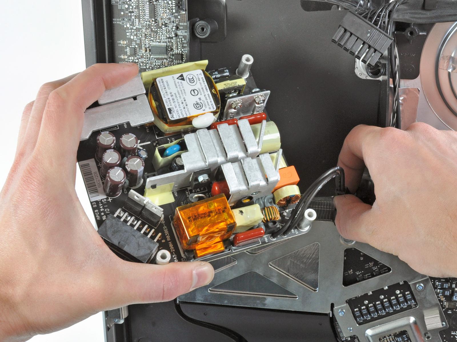 苹果imac新款一体电脑实机拆解(组图)