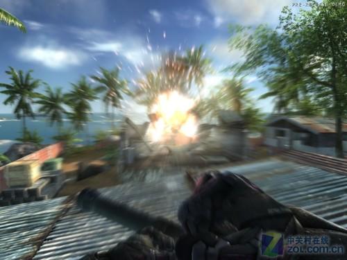 孤岛危机游戏中运动模糊效果