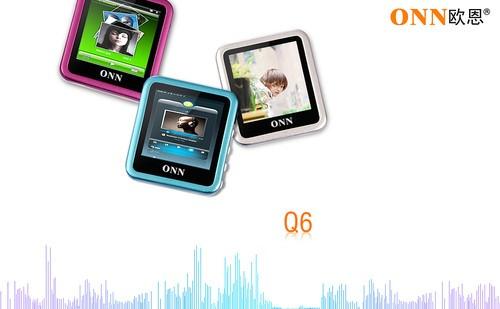 酷似nano6设计 欧恩新品纯音Q6发布