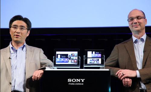 索尼推S1和S2平板电脑 发布现场(组图)
