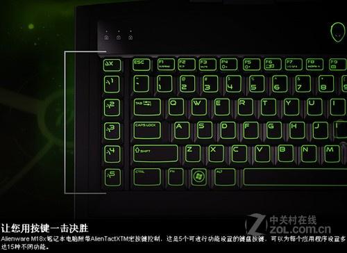 i7四核460M双卡 Alienware M18x本上市