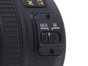 尼康AF-S 50mm f/1.8G设置按键
