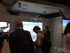infoComm2011:松下展出弧形拼接系统