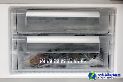 内部空间设计 美菱三开门272L 美菱 BCD 272HE3BF 家电冰箱