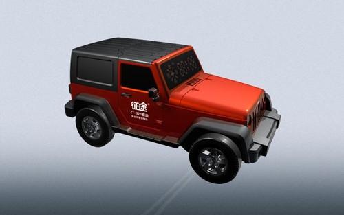 新款北京jeep车图片