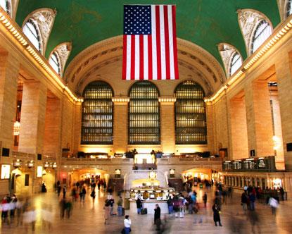 成为纽约中央车站里一道新的风景线.