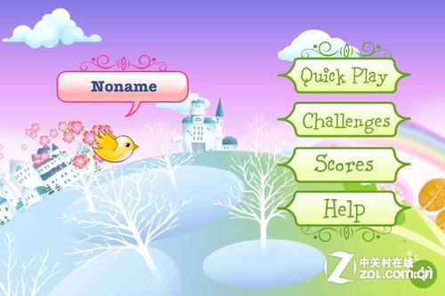 该款游戏画面清新,可爱的小鸟造型独特