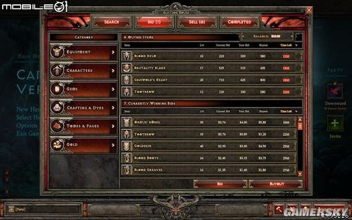 《暗黑破坏神3》封测试玩及拍卖场详解