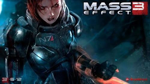 《质量效应3》女性主角选定 壁纸公布