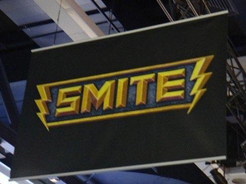WOW式DOTA游戏:《SMITE》亮相PAX游戏展