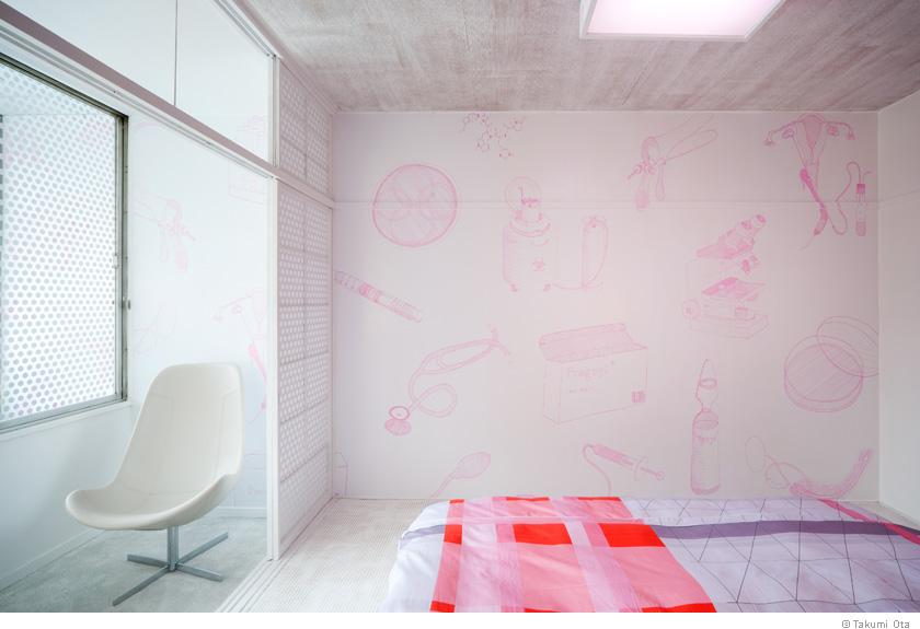 体验别样情调 日本情人旅馆设计展