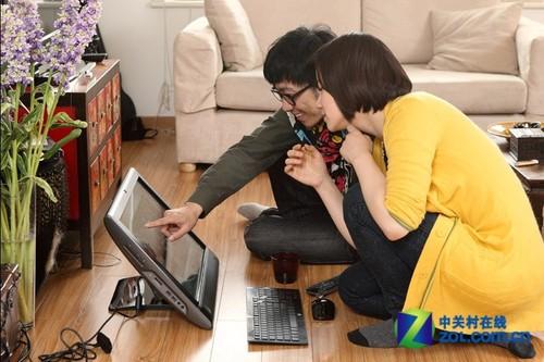 在一起 惠普TouchSmart610倡导数字生活