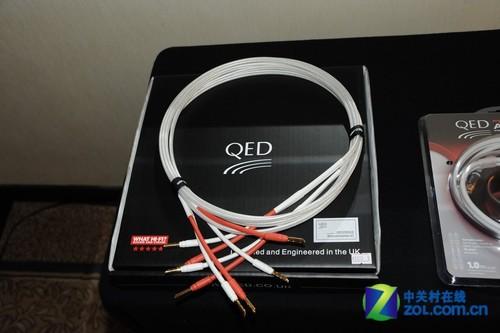 千元高端HDMI线 QED发烧线材亮相展会
