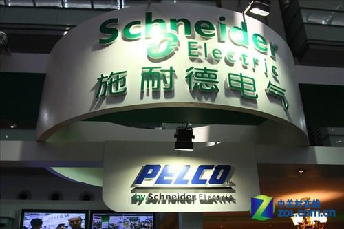 施耐德电气展示多款视频监控摄像头产品