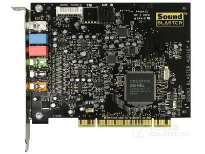 正品行货创新 Sound Blaster Audigy 4 Value网络K歌的*