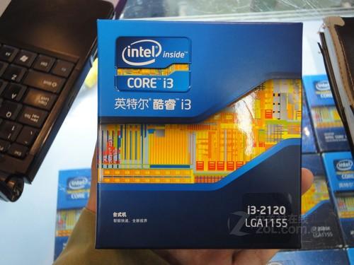 双核超线程 Intel酷睿i3-2120售780元