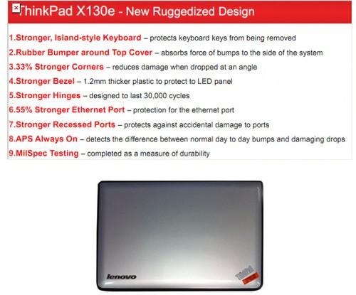 联想12月将推ThinkPad X130e新笔记本