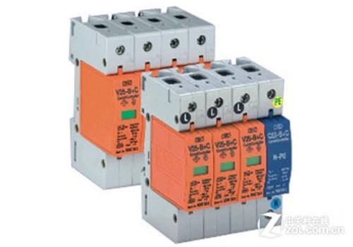 采用电源防雷器能在最短时间内释放电路上因雷击感应而产生的大量脉冲