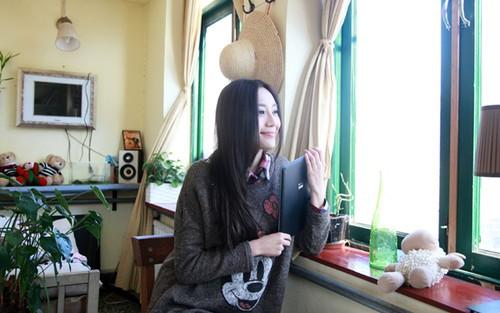 凛冽寒冬 有汉王E920陪伴的悠闲午后