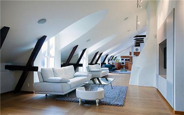 空间利用有学问 国外阁楼创意设计(2)图片