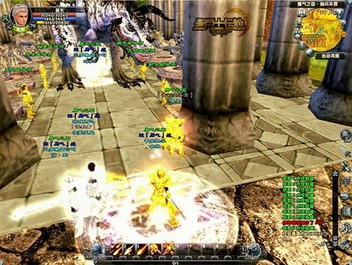 大型MMORPG《圣斗士传说》速冲等级攻略