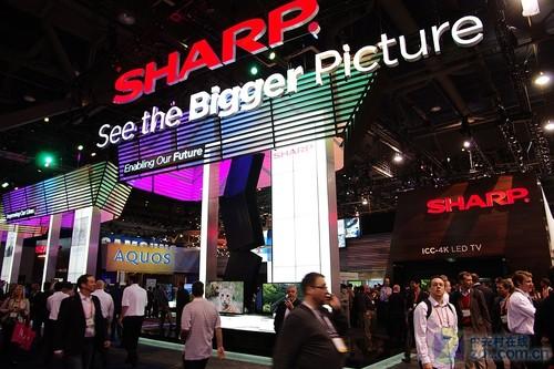 夏普建立百年 8K分辨率LCD惊艳CES全场